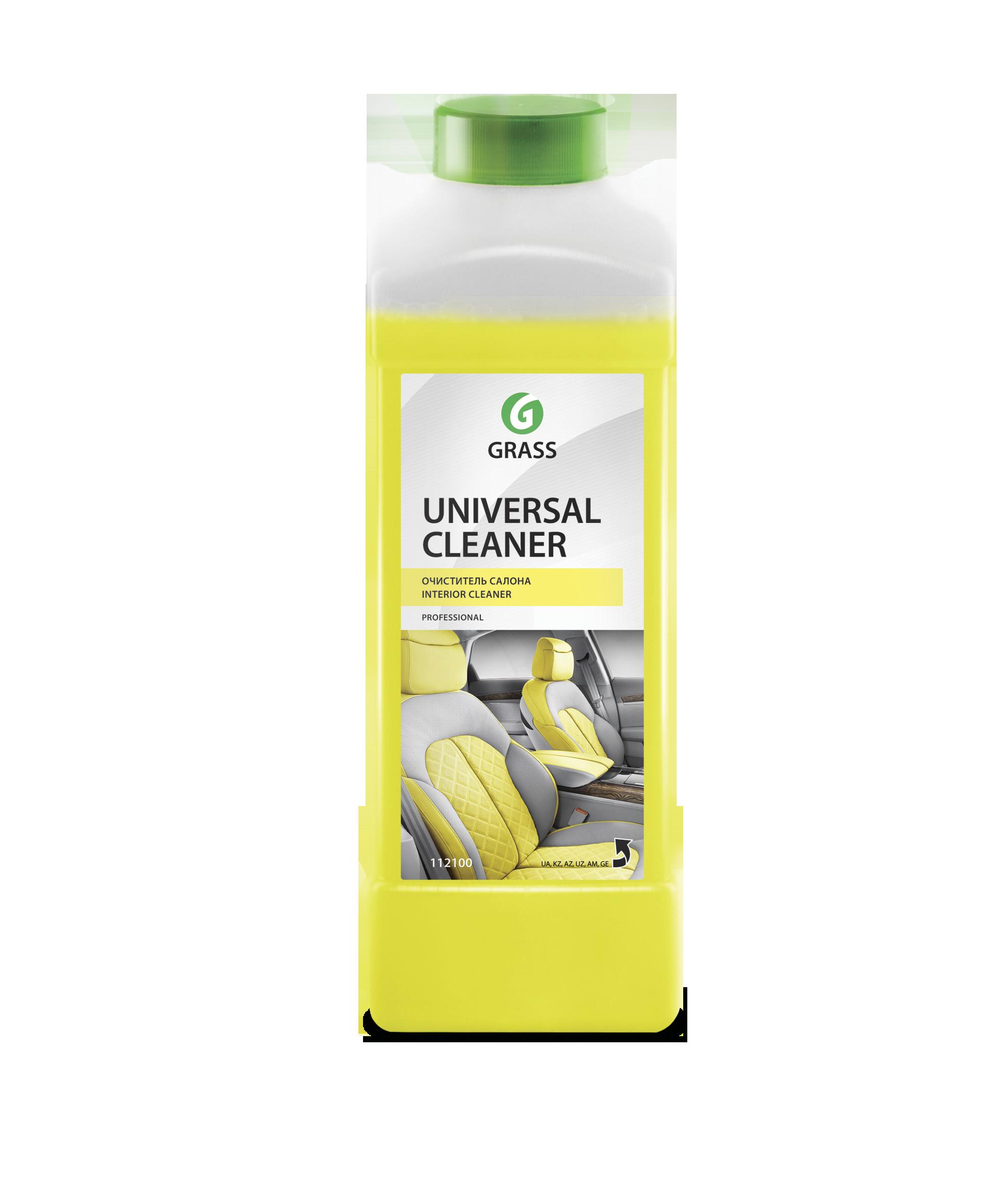 """Очиститель салона """"Universal-cleaner"""" 1 л – продажа профессиональной химии «GRASS-RUS»"""